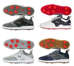 PUMA MENS IGNITE PWRADAPT CAGED SPIKED GOLF SHOES - NEW 2020
