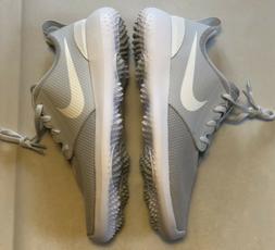 Mens Nike Roshe G Golf Shoes Size 13 Pure Platinum/White AA1