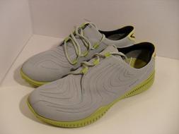 ECCO Mens S-Drive Golf-Shoes CONCRETE/KIWI US SIZE 8 & 9 EUR