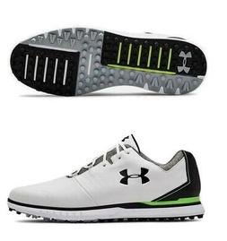 Under Armour Mens Showdown SL Golf Shoes White/Black 2019 -
