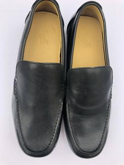 Ashworth~Mens Spikeless Black Golf Shoes ~loafers size 9~NWO