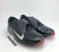 Nike Men's TW '17 Tiger Woods Black Silver Red Golf Shoes