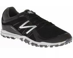 New Balance Minimus Black Waterproof Golf Shoes Spikeless Me