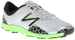 New Balance Men's Minimus Sport Golf Shoe,Green/Grey,8 D US