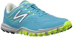 New Balance Ladies Minimus Spikeless Shoe Blue Blue 7.5 Medi