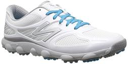 New Balance Women's Minimus Sport Spikeless Golf Shoe, White