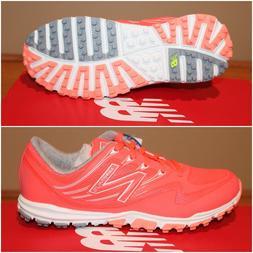 New Balance Minimus Sport Golf Shoes NBGW1006CRL Coral Size