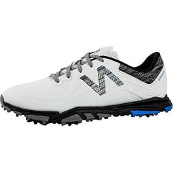 New Balance Men's Minimus Tour Golf Shoe White/Black 14 2E 2