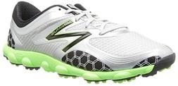 New Balance Men's Minimus Sport Wide Golf Shoe,Green/Grey,8.
