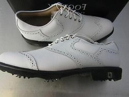 Footjoy Myjoys Icon Shield Tip Golf Shoes All Solid White Ga