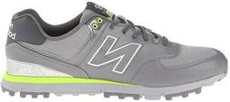 nbg 518 spikeless golf shoes grey lime