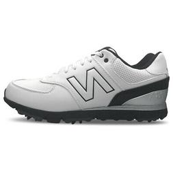 New Balance Nbg 574 Spiked Classic 15 Golf Shoes White/Black