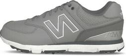 nbg 574 spiked golf shoes grey charcoal