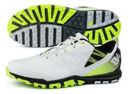 New Balance NBG1006GRG Minimus SL Grey/Green Golf Shoes Spik