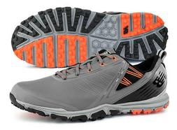New Balance NBG1006GRG Minimus SL Grey/Orange Golf Shoes Spi