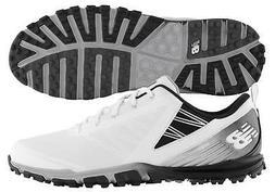 New Balance NBG1006WK Minimus SL White/Black Golf Shoes Spik