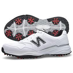 New Balance Men's nbg1701 Golf Shoe, White/Black, 12 4E US