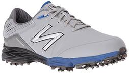 New Balance Men's nbg2004 Golf Shoe, Grey/Blue, 12 D US