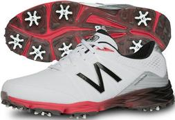 New Balance NBG2004 Golf Shoes White/Red 13 X-Wide