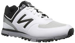 New Balance Men's nbg518 Golf Shoe White/Black 12 D US
