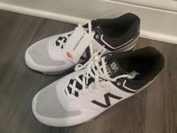 New Balance NBG518 Spikeless Golf Shoes White/Black White/Bl