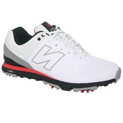 New Balance Men's NBG574-M, White/Red, 15 D US