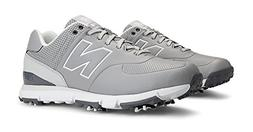 New Balance Men's NBG574 Golf Shoe,Gray,12 D US