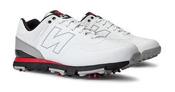 New Balance Men's NBG574 Spiked-M, Black/Red/White, 14 4E US