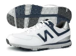 New Balance NBG574WN SL Golf Shoes White/Navy Men's 2018 New