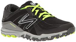 New Balance Women's nbgw1005 Golf Shoe Black/Lime 7.5 B US