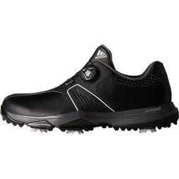 New Adidas 2017 360 Traxion BOA Mens Golf Shoes - WIDE - Bla