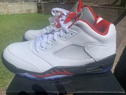 NEW Air Jordan 5 V Retro Low Golf Shoes Fire Red Size 11
