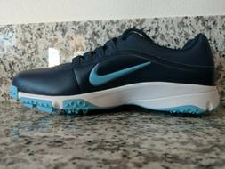 NEW Nike Air Zoom Rival 5 Golf Shoes Leather Blue 878957-400