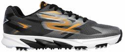 NEW! Skechers Blade Waterproof Mens Golf Shoes - Gray Black
