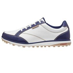 NEW ASHWORTH CARDIFF ADC WHITE / NAVY WOMEN'S GOLF SHOES  SI