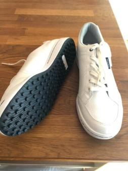 New ASHWORTH Cardiff White Size 9.5 Men's Spikeless Golf Sho