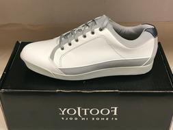 NEW FootJoy Contour 54204 Men's Golf Shoes White 10M WATERPR