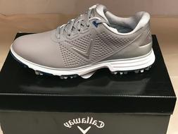 "NEW Callaway Coronado Grey/Blue ""Waterproof"" Men's Golf Shoe"
