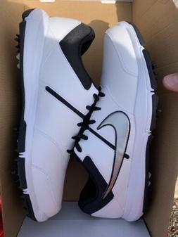NEW Nike Durasport 4 Men's Golf Shoes Size 13 Black/White/Si