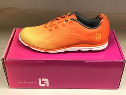 NEW FootJoy EmPower 98005 Orange Womens Golf Shoes 9.5M WATE