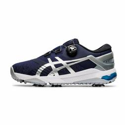 "NEW Asics GEL-COURSE Duo BOA Mens Golf Shoes "" Peacoat / Pur"