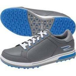 NEW! Skechers Go Drive 2 Mens Golf Shoes - Charcoal Gray & B