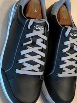 NEW!! SKECHERS 'GO GOLF DRIVE2' MENS BLACK FAUX LEATHER