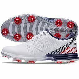 New Callaway Golf-  Coronado Shoes Size 11 Medium Red/White/