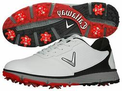 New Callaway Golf- Balboa TRX Golf Shoes White/Black Size 16