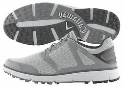 New Callaway Golf- Balboa Vent 2.0 Shoes Light Grey Size 9.5