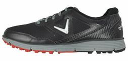 New Callaway Golf- Balboa Vent Golf Shoes Black/Gray Size 9