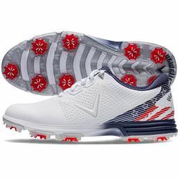 New Callaway Golf-  Coronado Shoes Medium Red/White/Blue