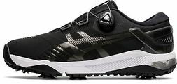 New Asics Golf Gel-Course Duo BOA Shoes BLACK/WHITE 001 Size