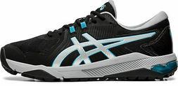 New Asics Golf Gel-Course Glide Shoes BLACK/LIGHT BLUE 001 S